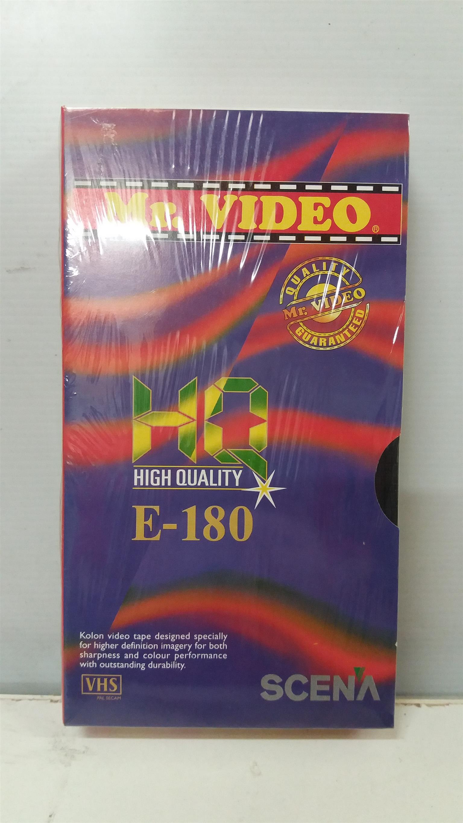 VHS Cassettes Combo