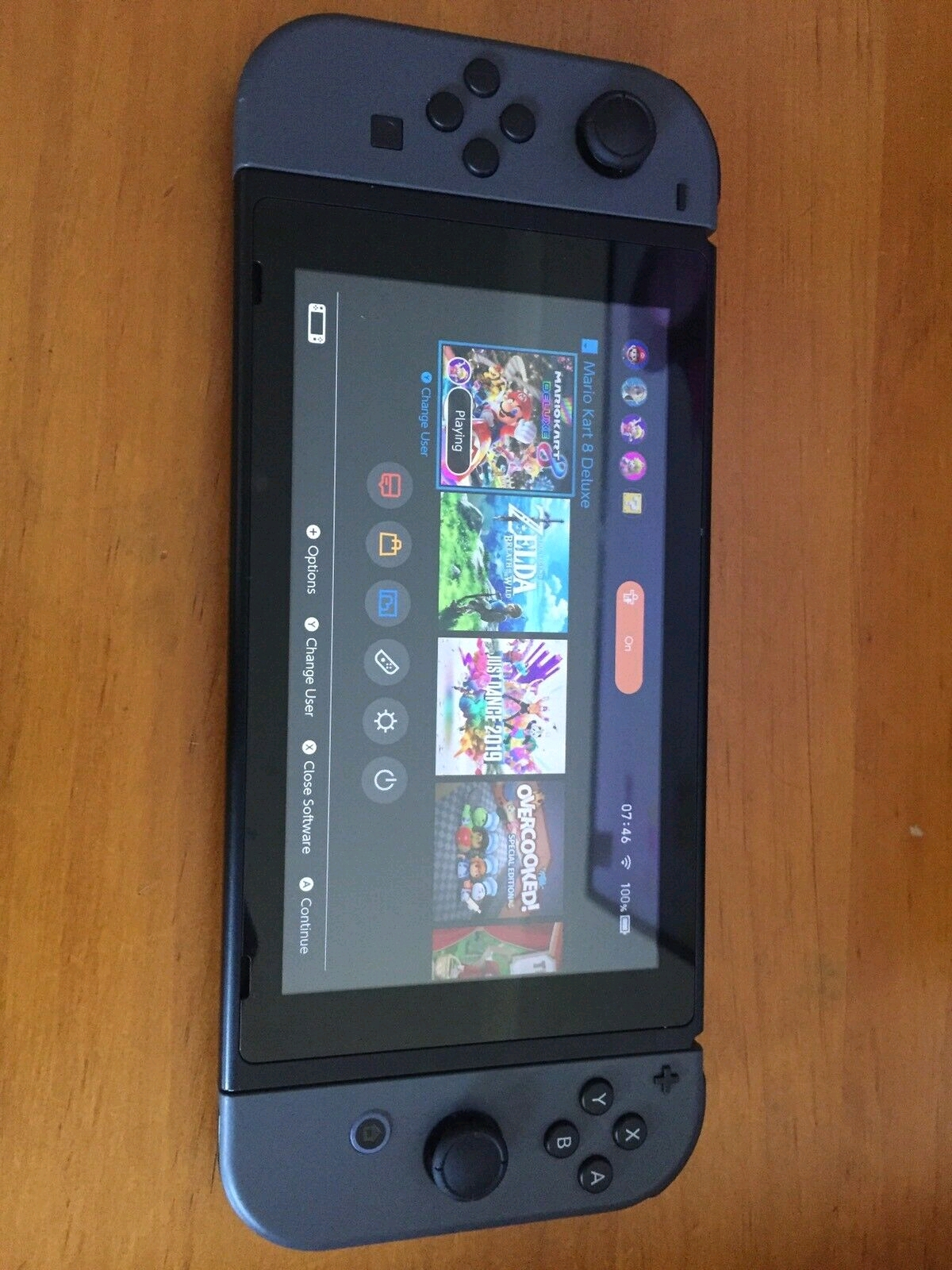 Nintendo switch Grey  console complete