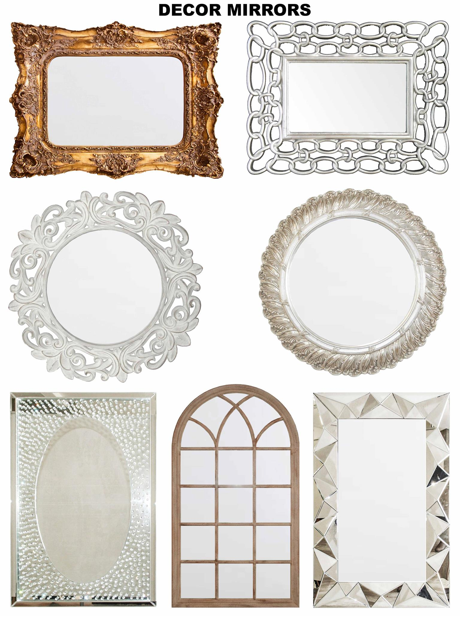 Exclusive Mirrors & Wall Decor