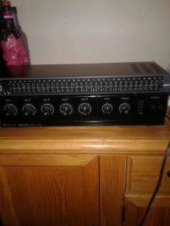 TOA PA Amp & dbx 32 channel equalizer