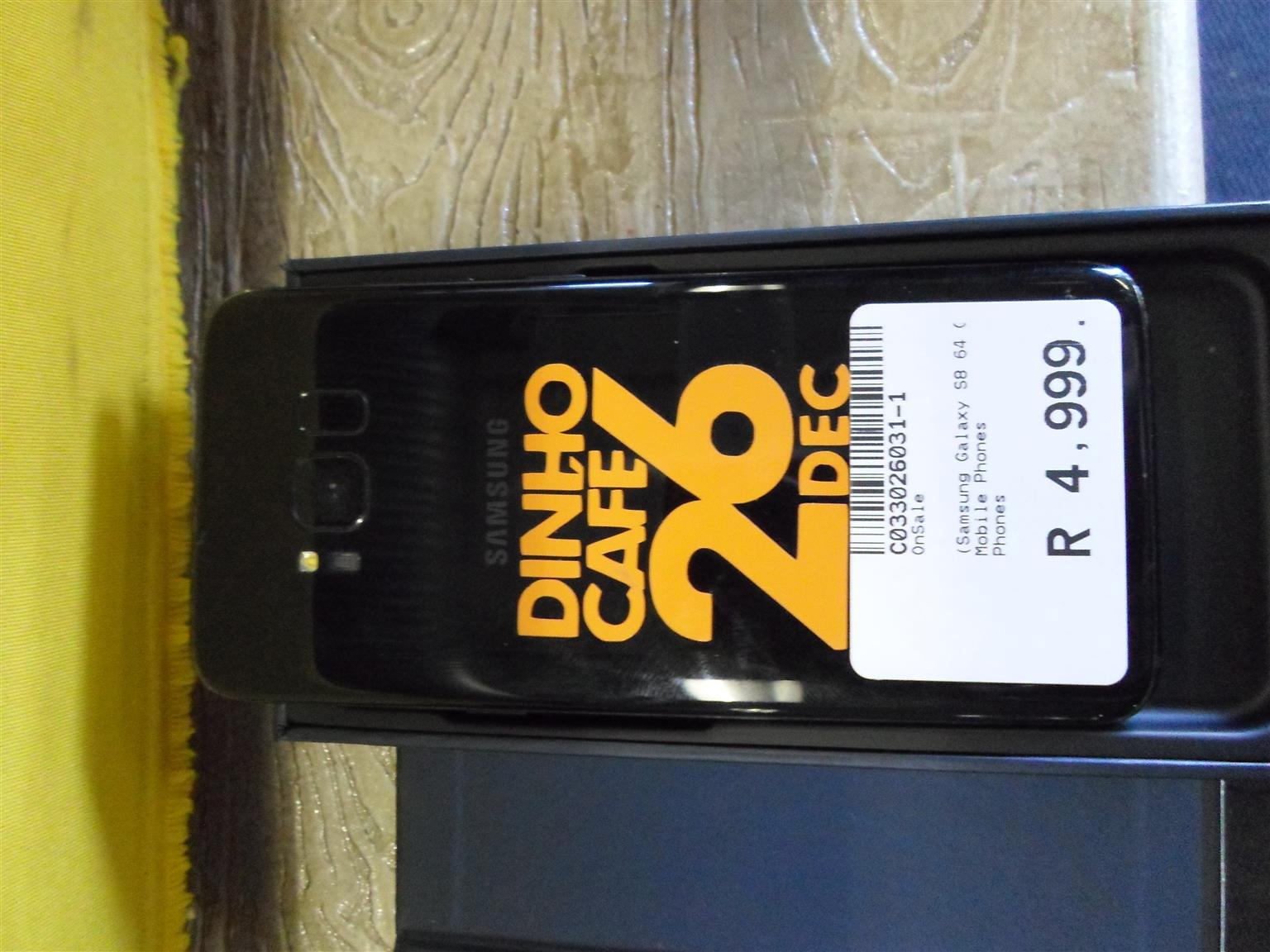 64GB Samsung S8 Cellphone