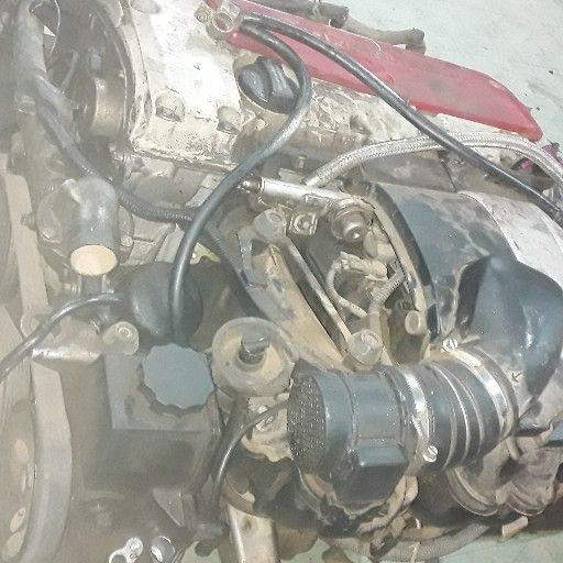 merc w203 111 compreser engine and auto gear box for sale