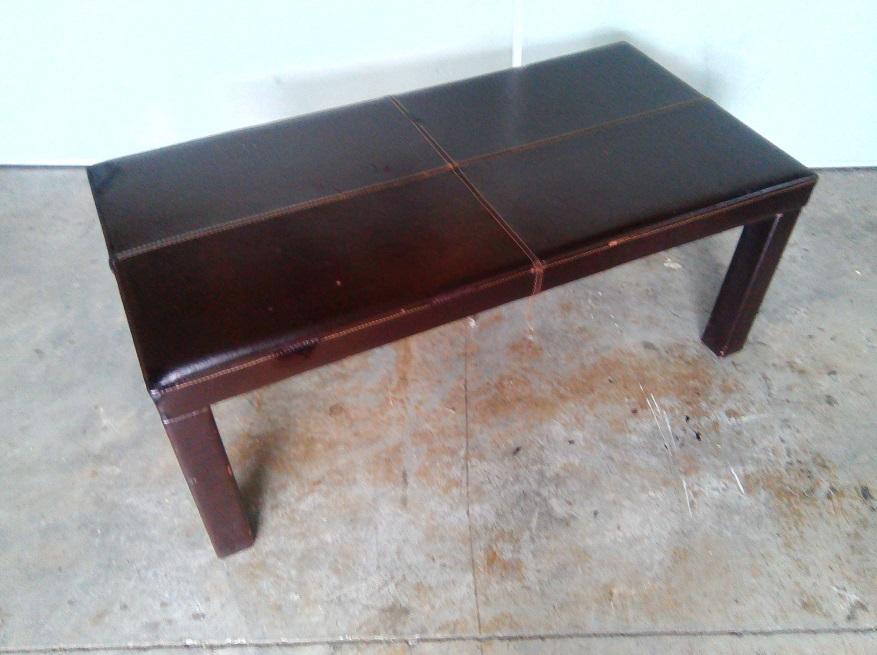 Mahogany rectangular coffee table
