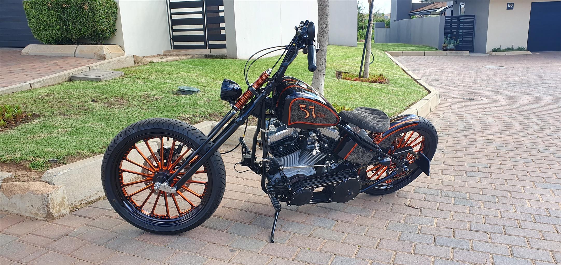 2008 Harley Davidson Custom