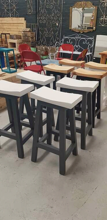 Trending CoriCraft wood barstools