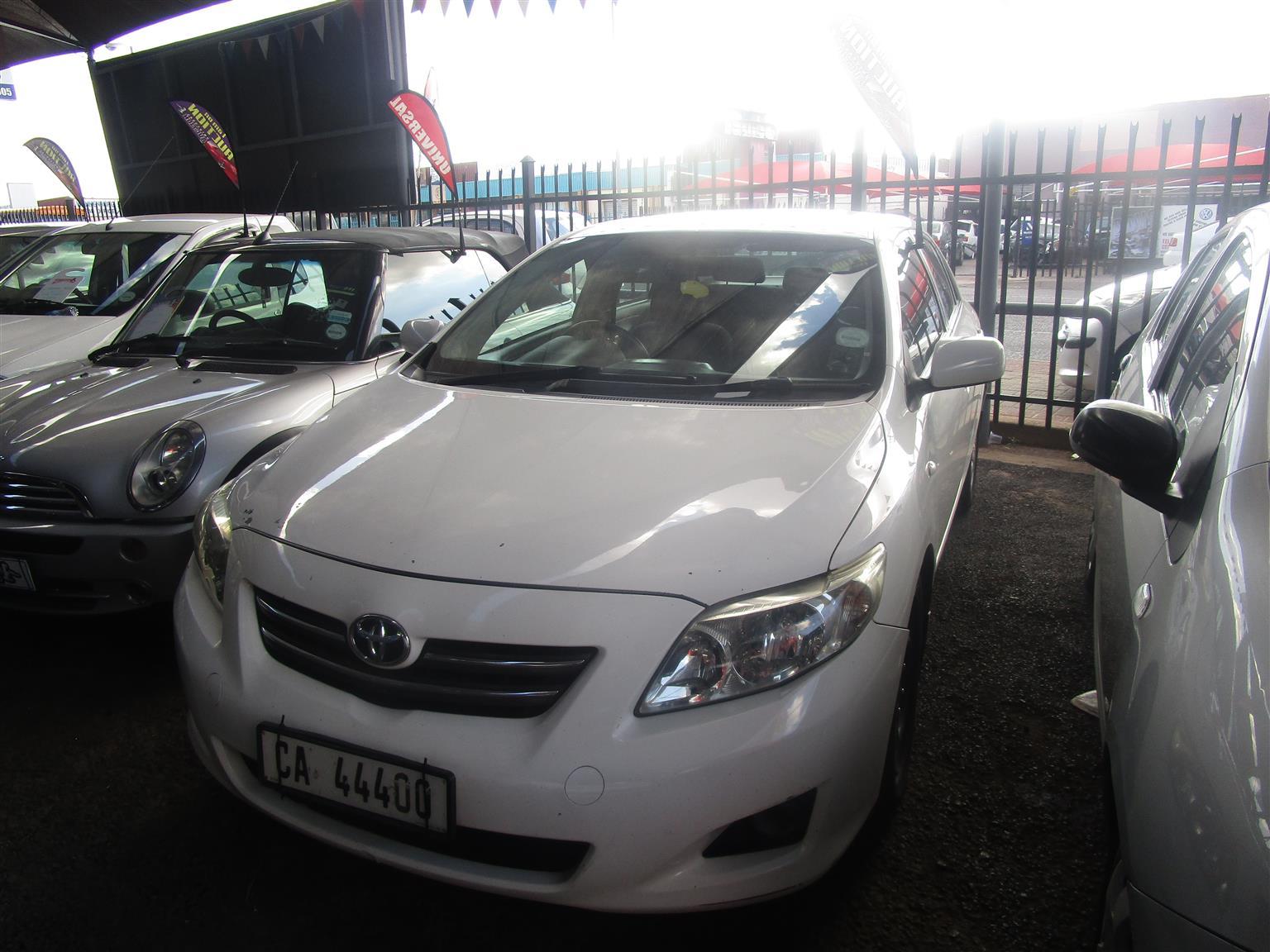 2013 Toyota Corolla 1.6 Advanced