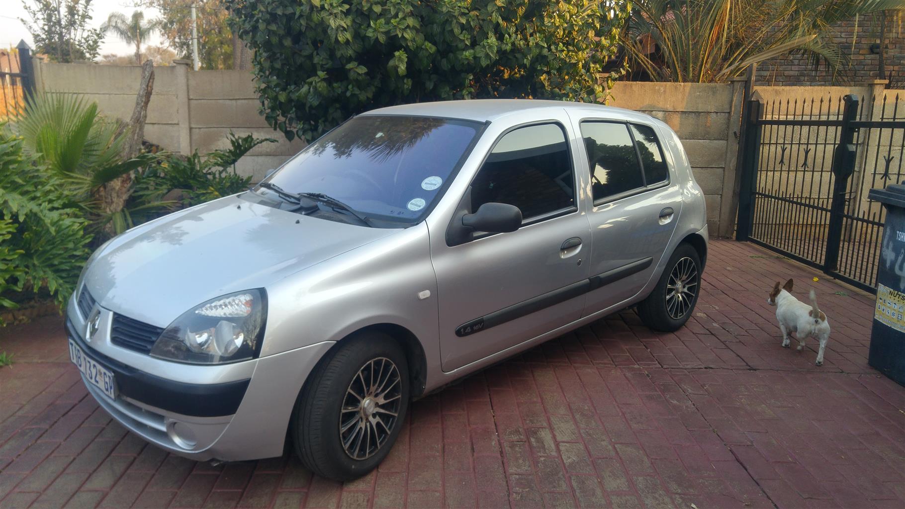 2005 Renault Clio 1.4 Expression 5 door