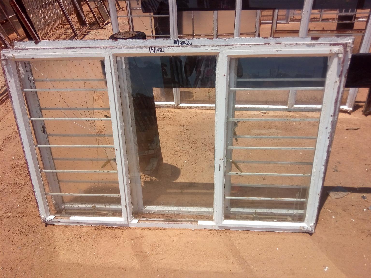 2ND STEEL WINDOWS