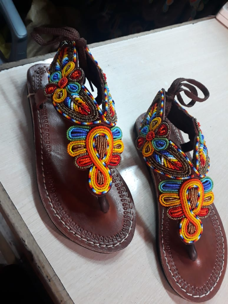 Crafted sandles ND slippersq