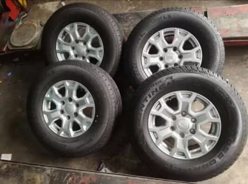 16 inch Ford ranger Rims and tyres for sales