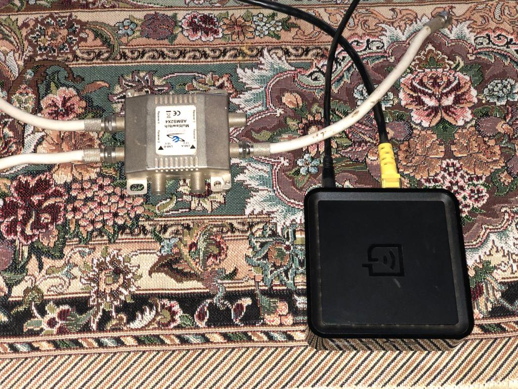 DSTV Wireless WiFi connector WPS & MultiSwitch