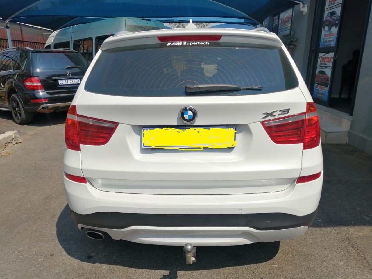 2016 BMW X3 2.0d
