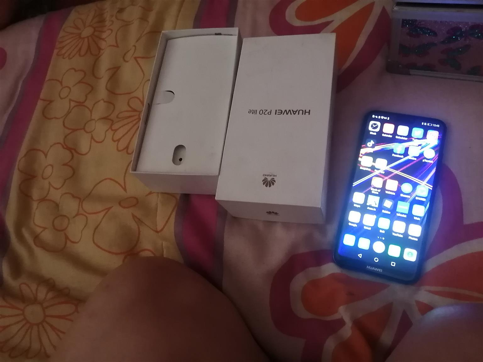 Huawei p20 lite for sale with box