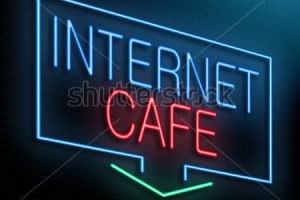 Internet cafe and copy shop- browse the internet in high speed and