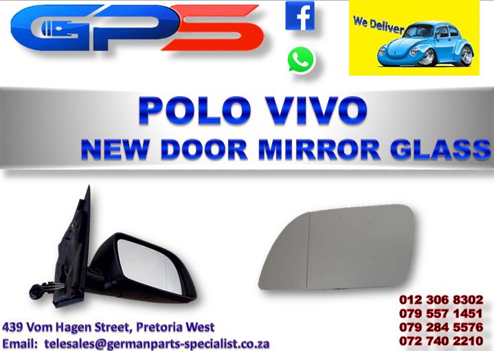 New VW Polo Vivo Door Mirror Glass for Sale