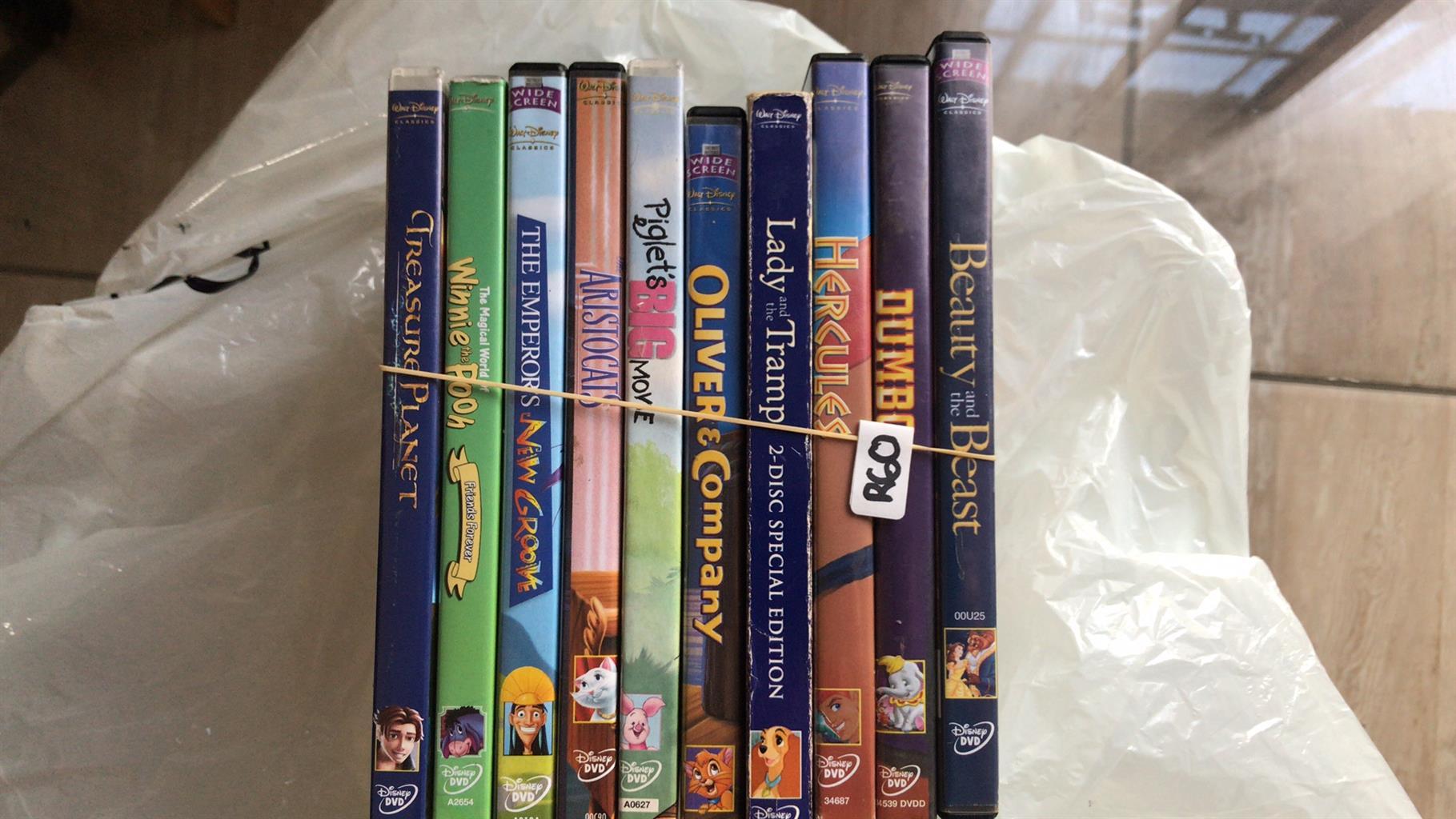 Old Disney Favorites DVD Collection