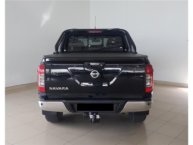 Sportsbar with HMSL (Black) for a 2018 Nissan Navara Double Cap bakkie 4x4