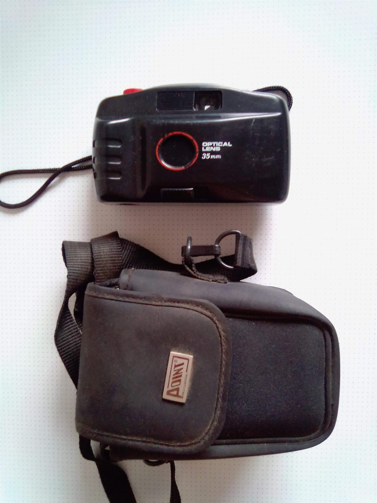 Film Cameras. Two to choose from. With carrying pouches..