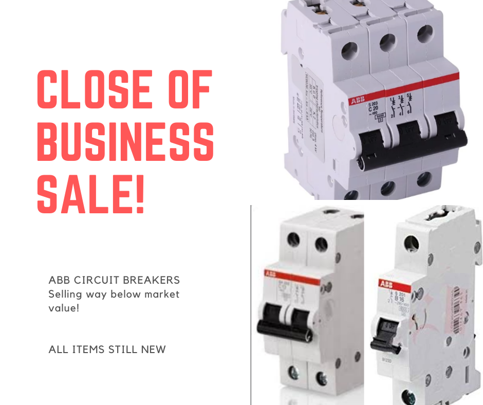 ABB Circuit Breakers for sale