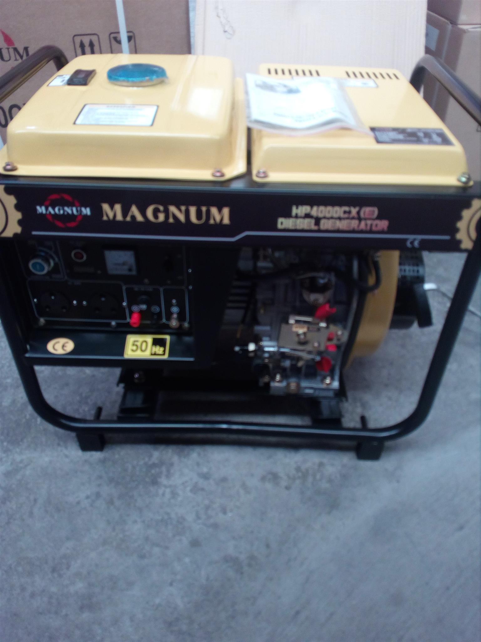 Magnum Diesel Generator 3.5kva/ price incl vat