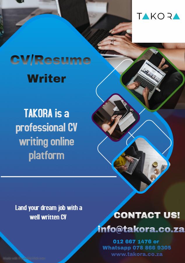 TAKORA CV Writing