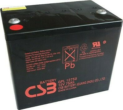 Csb Deep Cycle Battery (75Ah) For Sale
