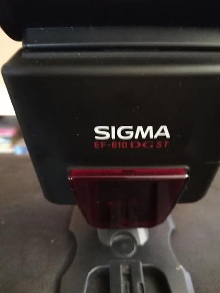 Sigma EF-610 DG ST External flash vir Canon kamera
