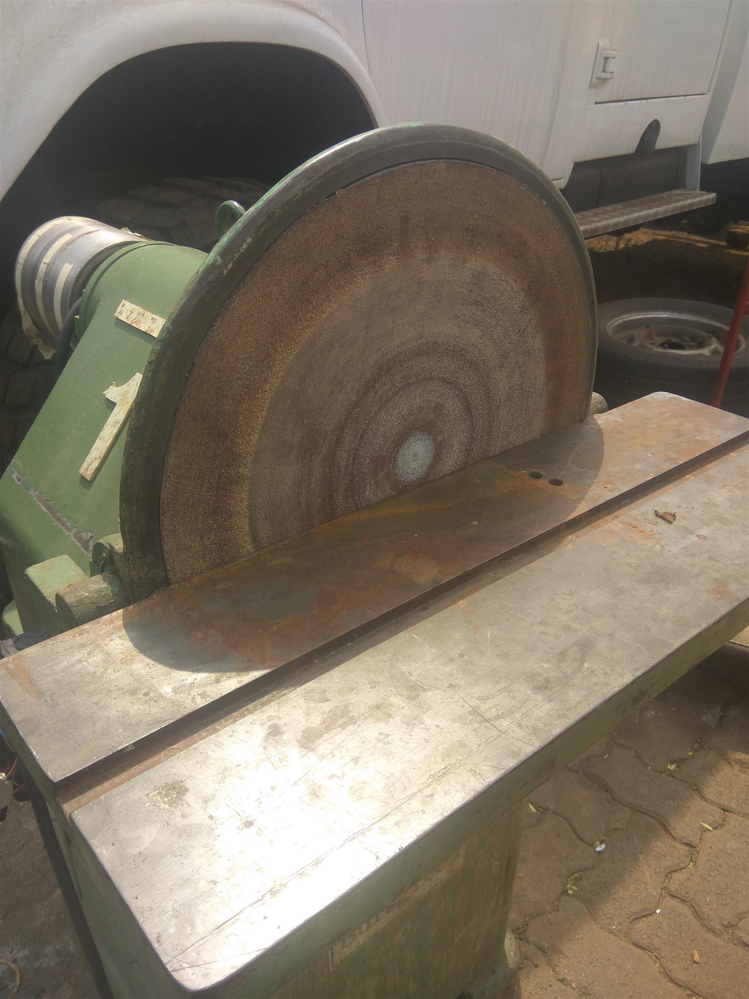 Disk drum sander for sale.