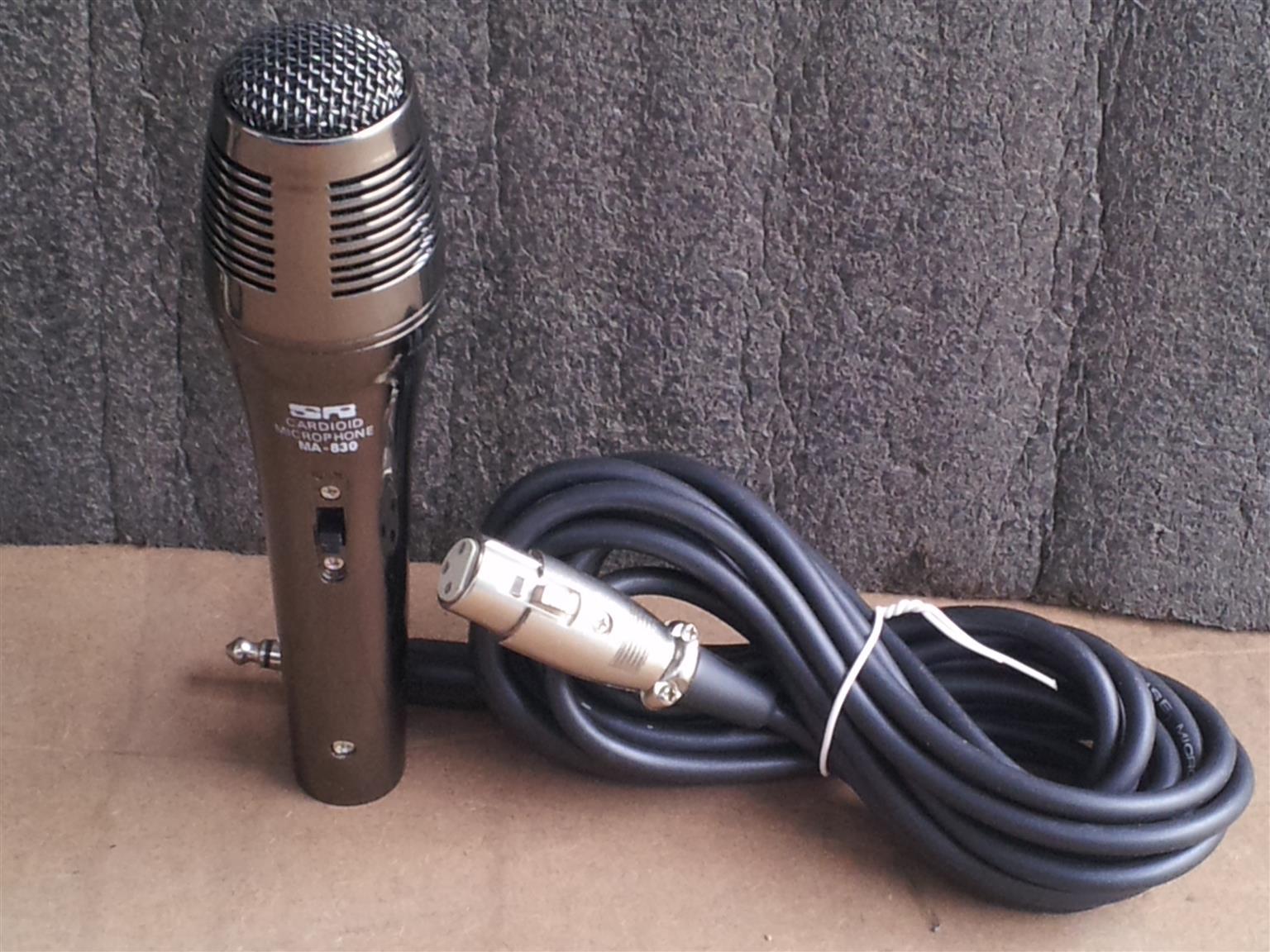 cardioid microphones