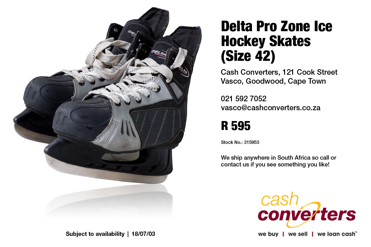 Delta Pro Zone Ice Hockey Skates (Size 42)