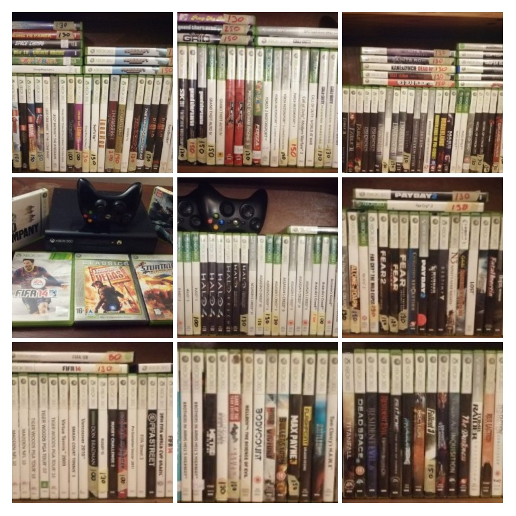 Xbox and Playstation games and accessories