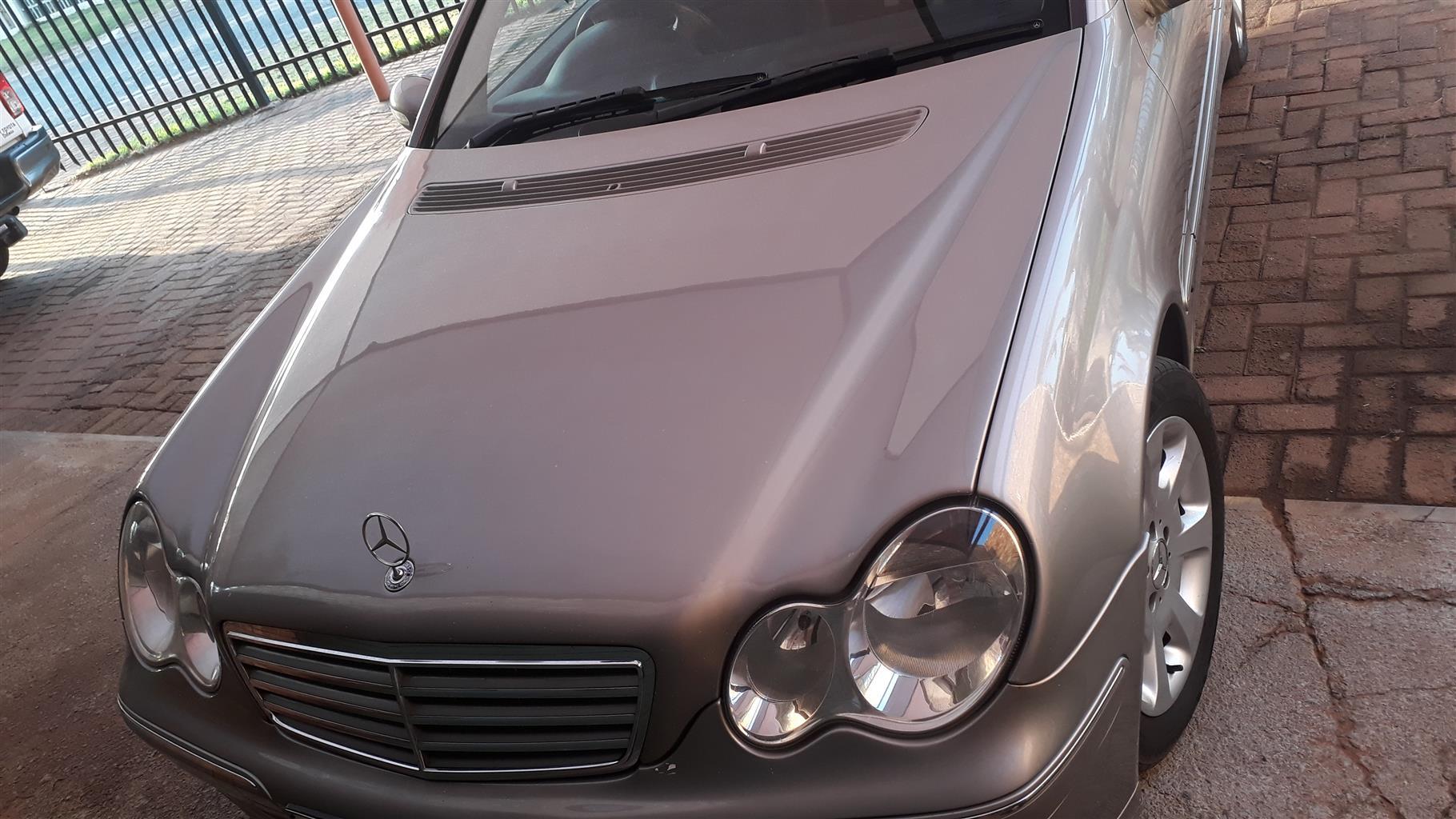 2007 Mercedes Benz C Class C180 Avantgarde auto