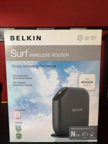 Wireless Modem Router Belkin