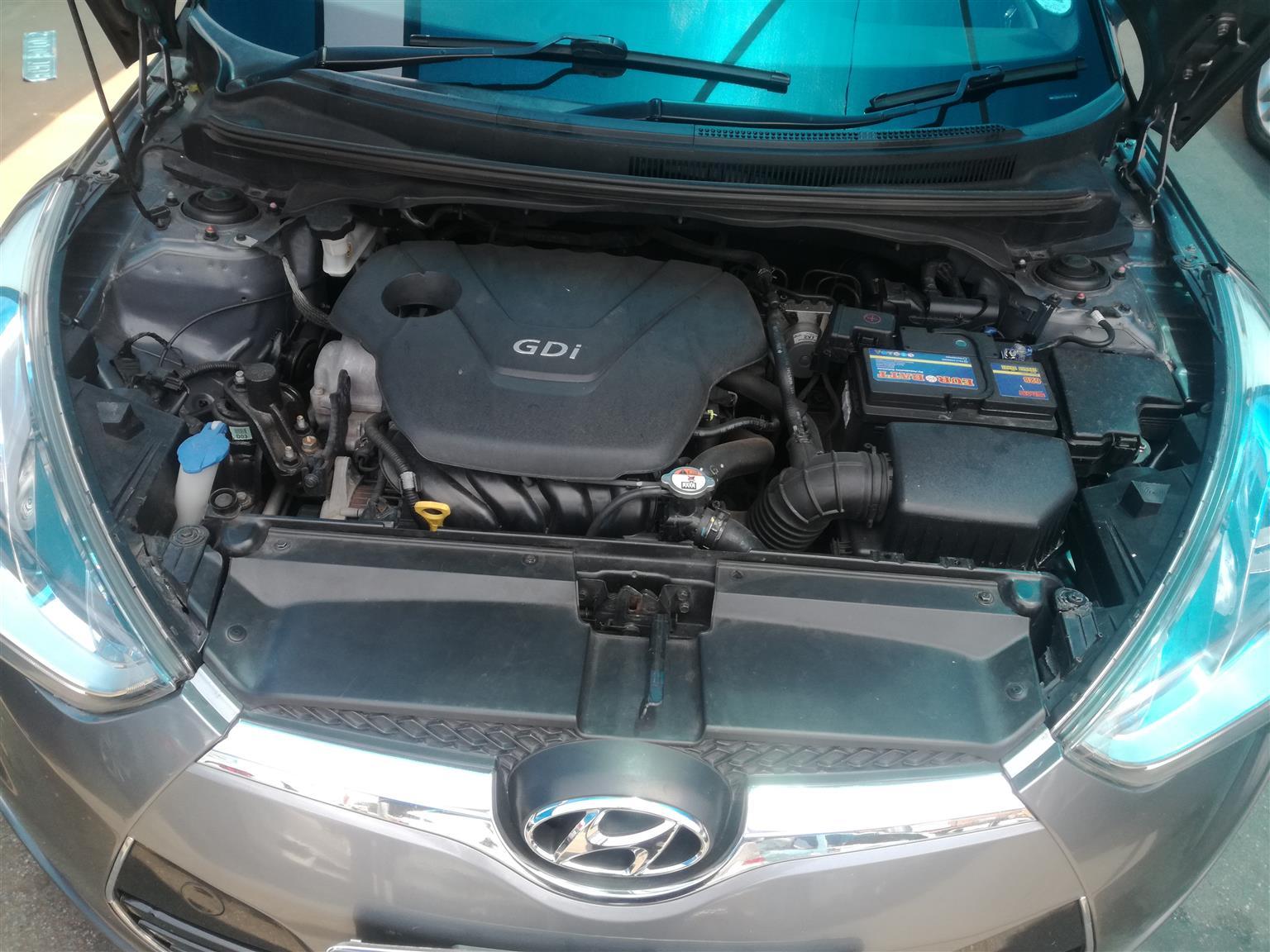 2013 Hyundai Veloster 1.6 Executive