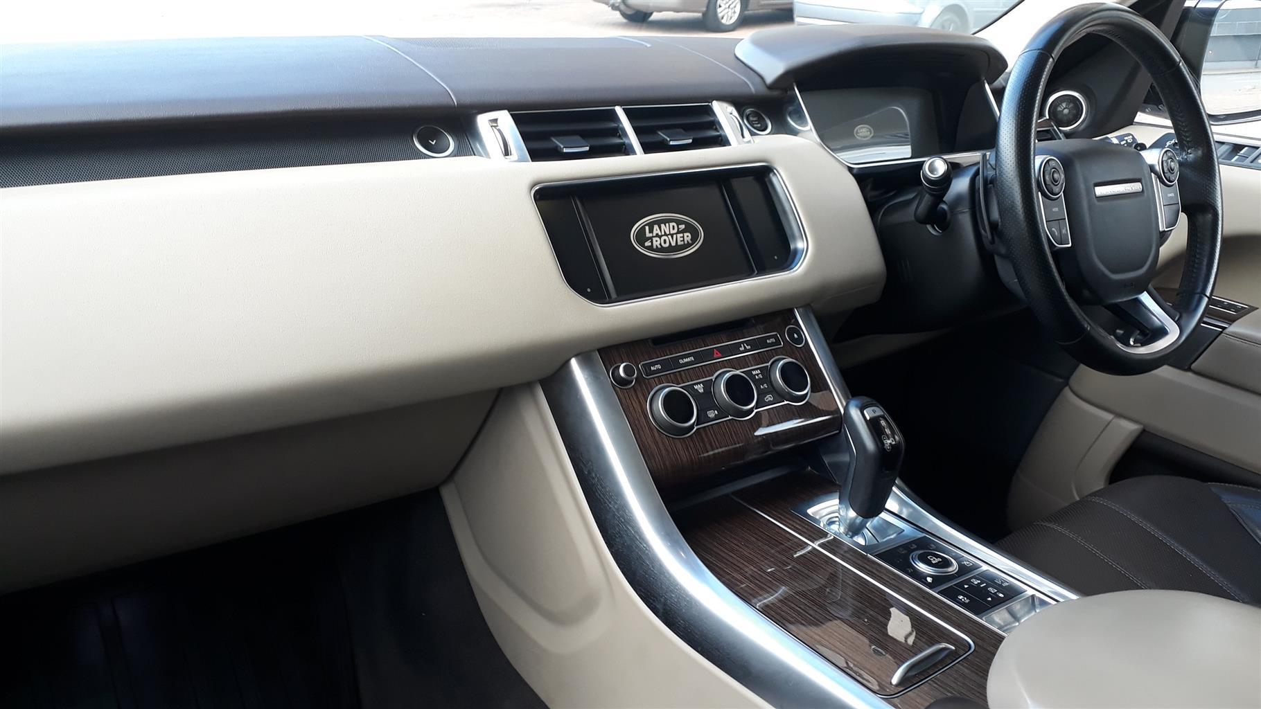 2017 Land Rover Range Rover Sport HSE Dynamic SDV8