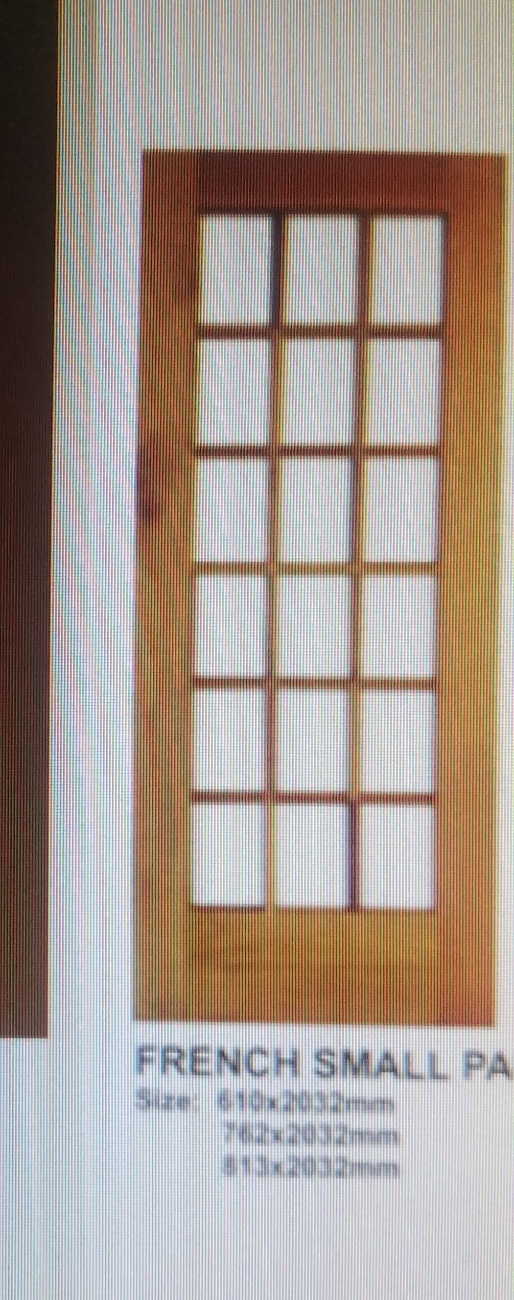 FRENCH MERANTI SINGLE PANEL DOOR FOR SALE URGENTLY