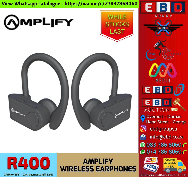 Amplify Wireless Earphones