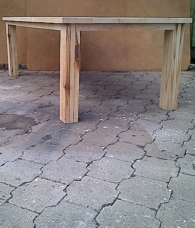 Patio table Chunky Cottage series 2200 Raw
