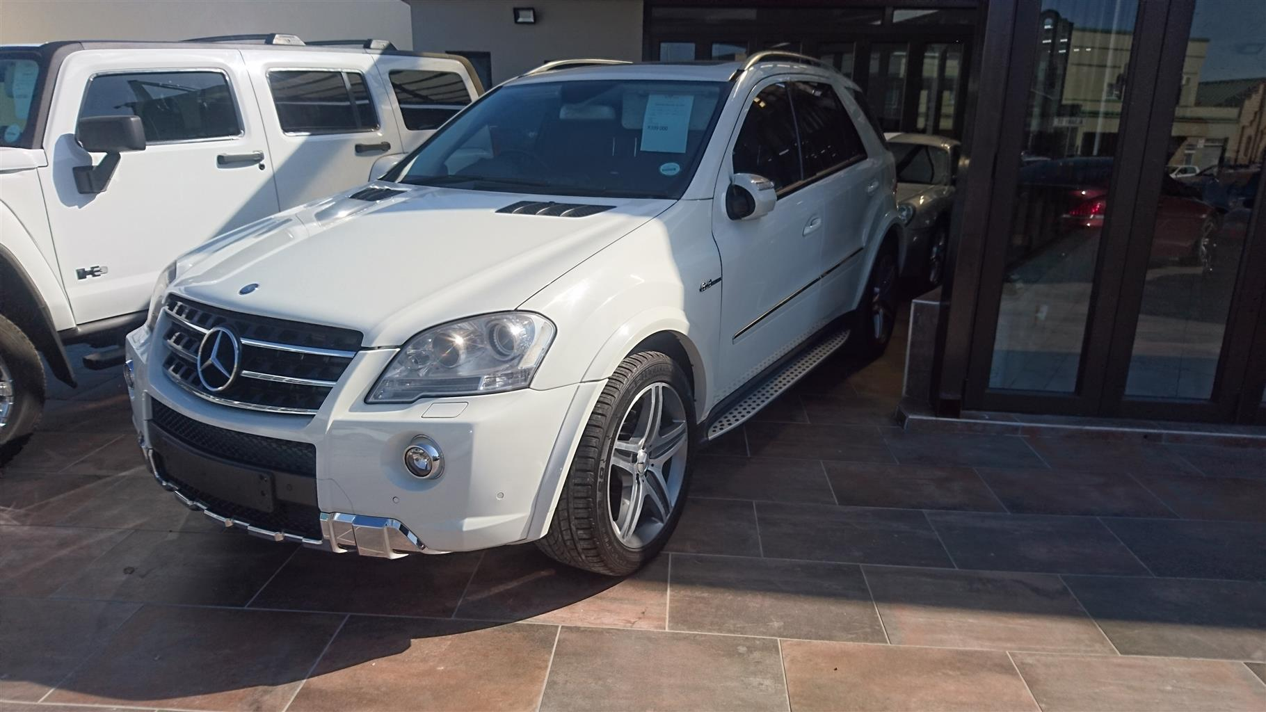 2010 Mercedes Benz Ml 63 Amg Junk Mail