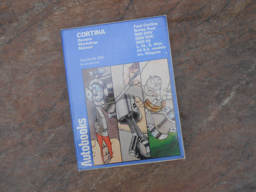 Ford Cortina Series Four workshop manual