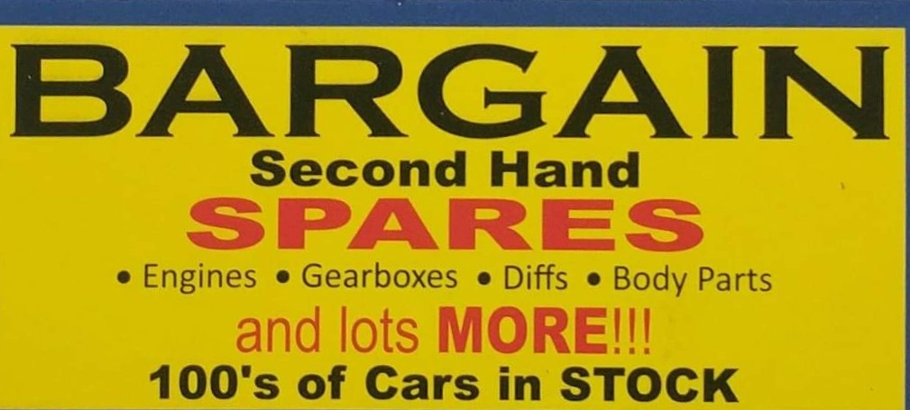 Find Bargain Secondhand Spares's adverts listed on Junk Mail