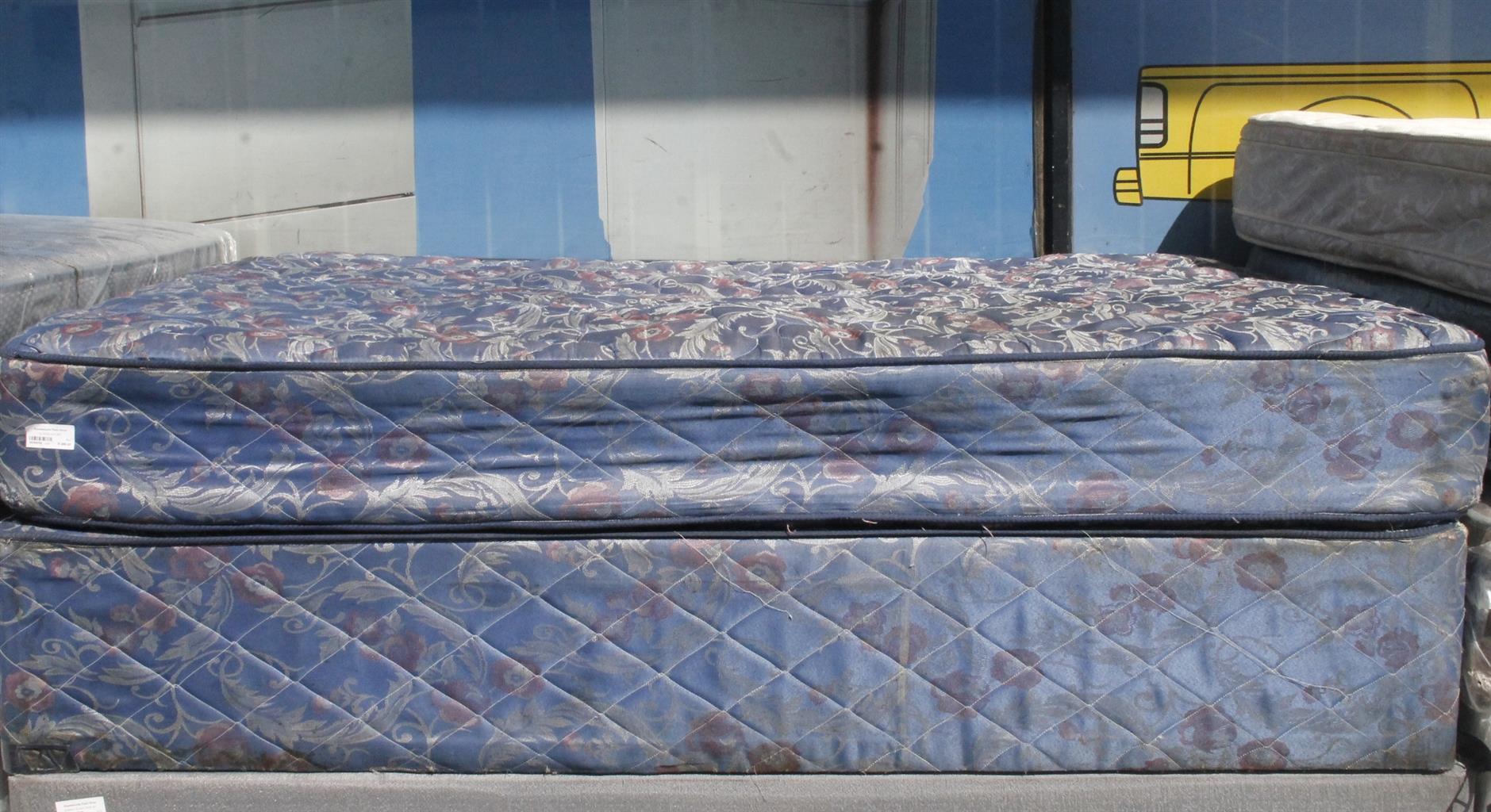 BLUE DOUBLE BED S039470A #Rosettenvillepawnshop
