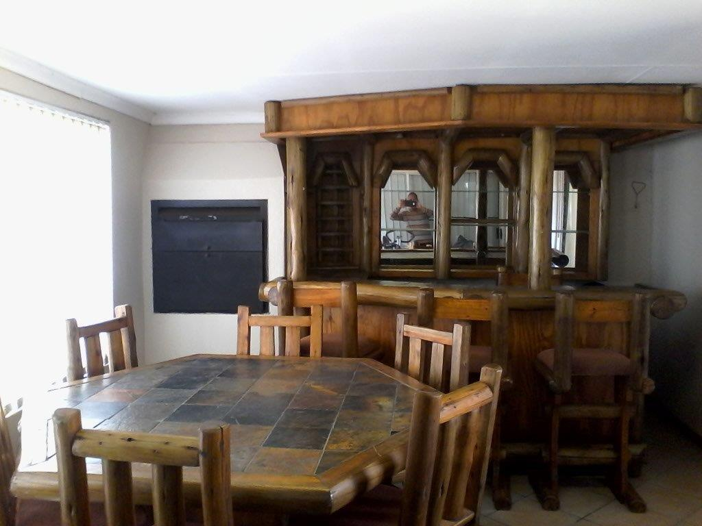 Home Bar With Table Chairs And Rack For Sale Junk Mail