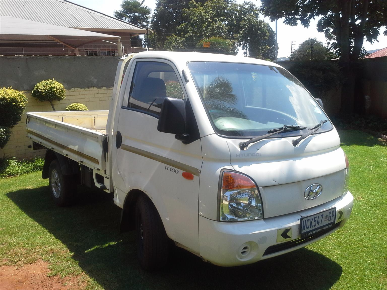 2006 Hyundai H-100 Bakkie 2.6D chassis cab
