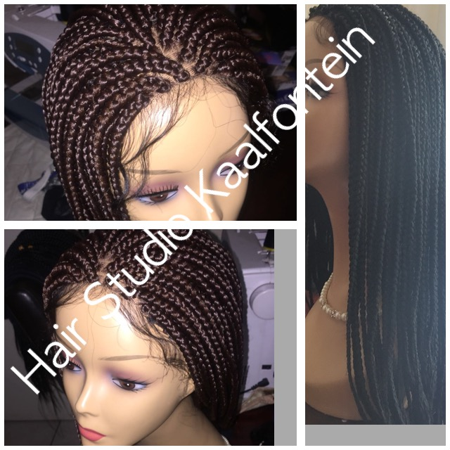 Beautiful Lace Frontal Braid Wig 0610713569 Junk Mail