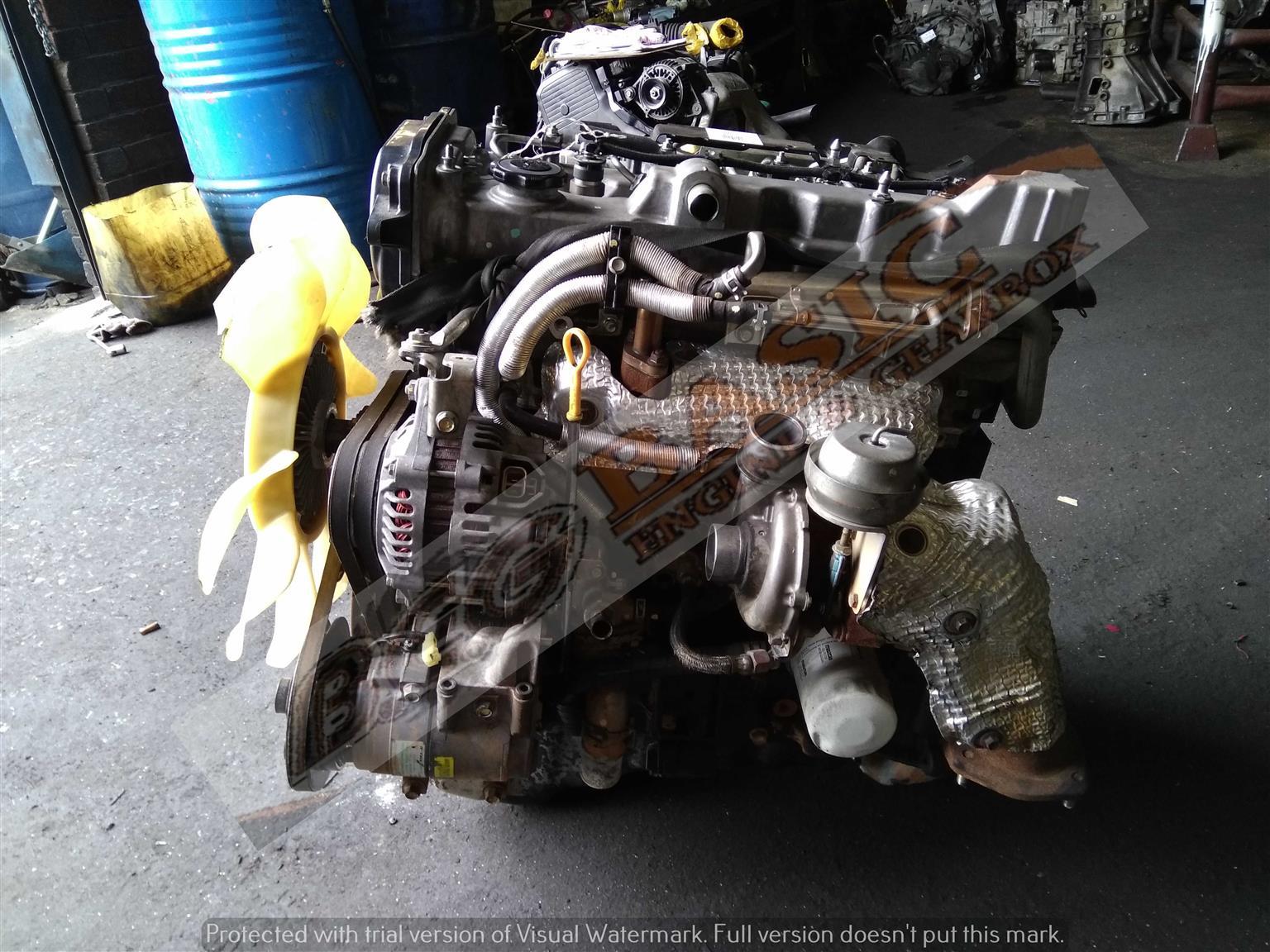 FORD RANGER -WEAT / BT50 3.0L TURBO DIESEL EFI Engine