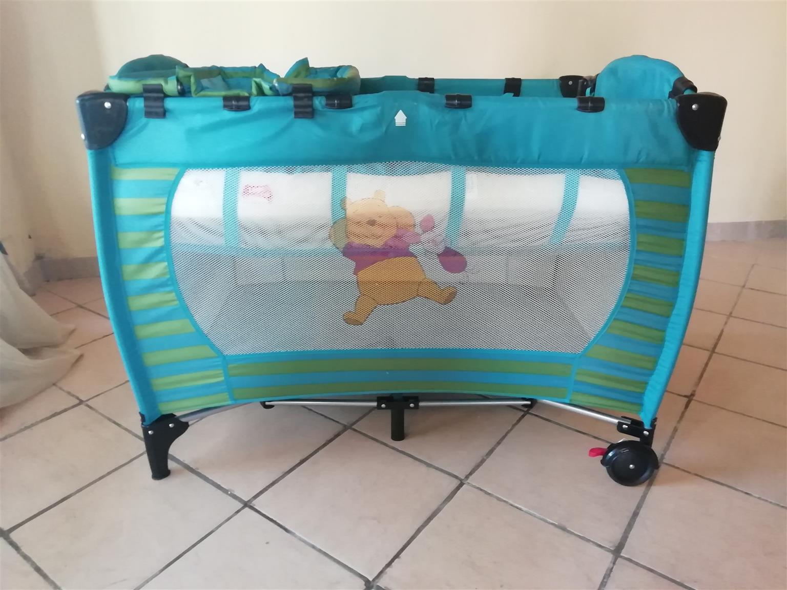 Winnie the pooh Bedside cot for sale