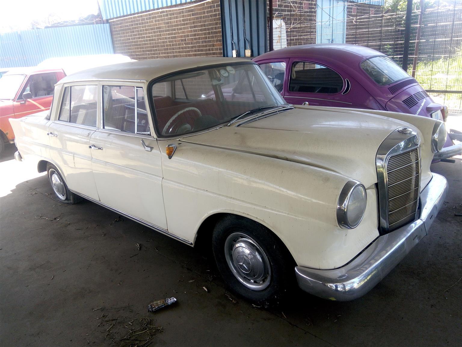 1957 Mercedes Benz 190