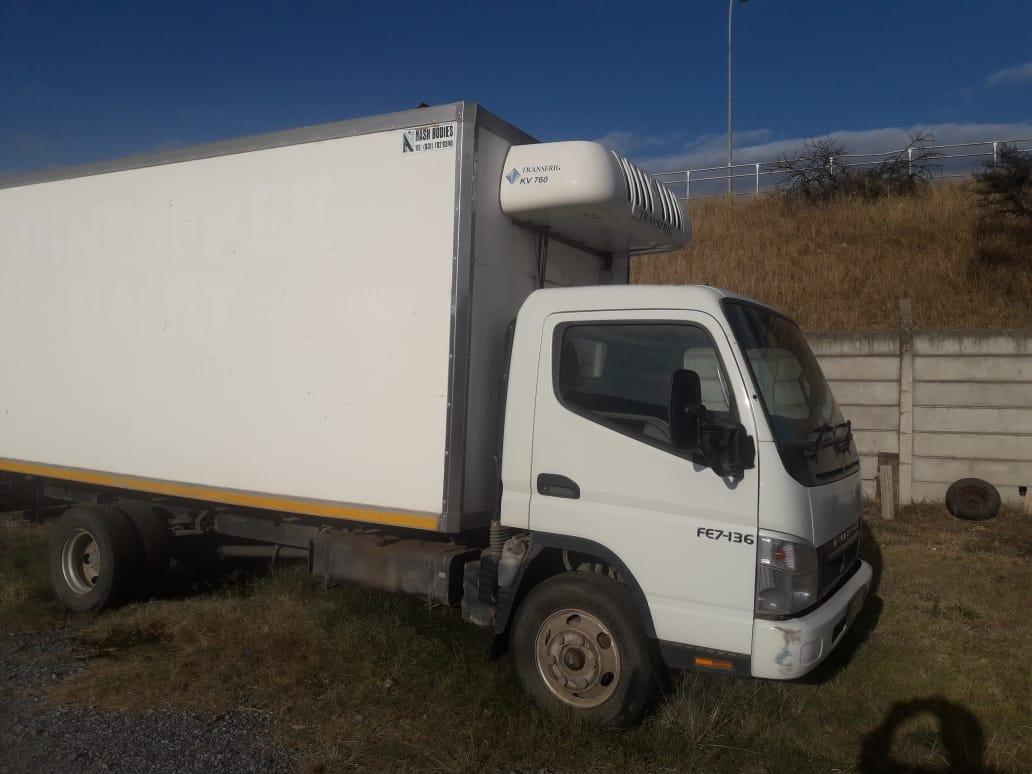 Mitsubishi Fuso regrigerated truck