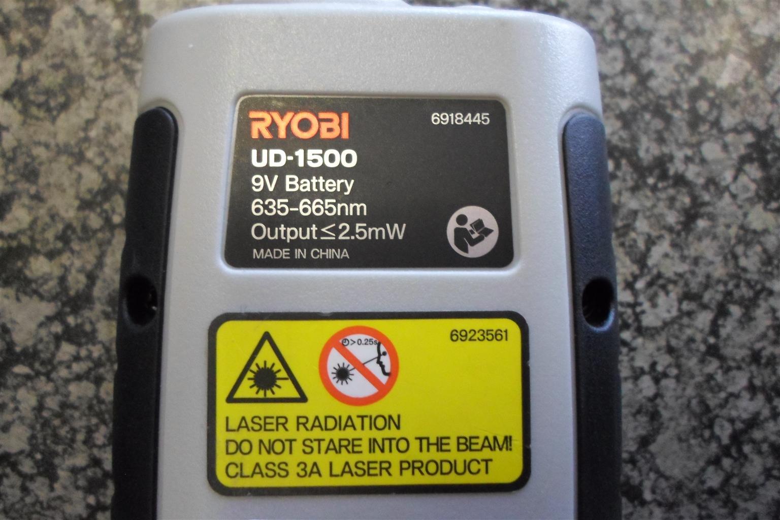 Ryobi UD-1500 Level Laser